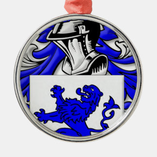 Galloway Coat of Arms Silver-Colored Round Decoration