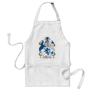 Galloway Family Crest Standard Apron