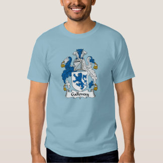 Galloway Family Crest Tshirts