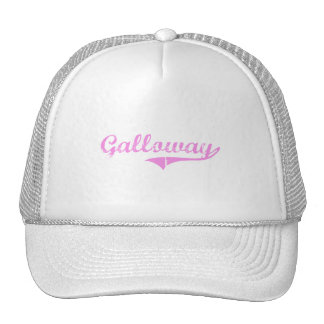 Galloway Last Name Classic Style Mesh Hat