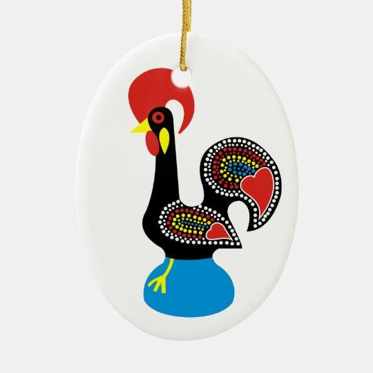 Galo de Barcelos Christmas Ornament