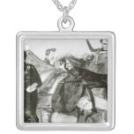 Galop Chromatique Silver Plated Necklace