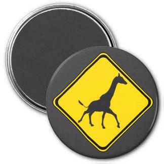 Galopping Giraffes Xing! Magnet