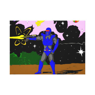 Galose in space canvas gallery wrap canvas