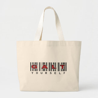 GALT YOURSELF logo Canvas Bags