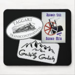 """""""Galt's Gulch"""", """"Taggart Transco..."""", """"Rearden..."""" Mouse Pads"""