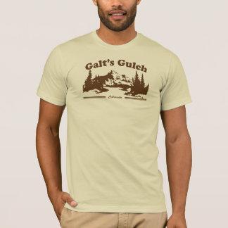 Galt's Gulch Vintage Tee Brown