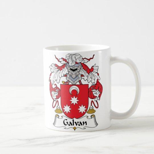 Galvan Family Crest Coffee Mug