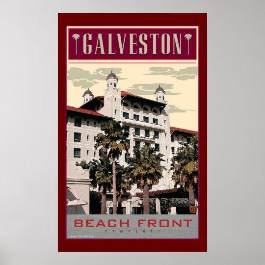 Galveston 2-Print Poster