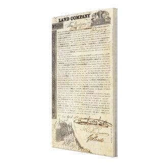 Galveston Bay and Texas Land Company Canvas Print