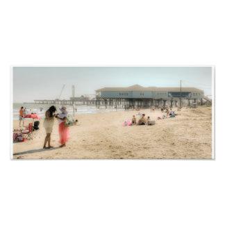 Galveston Beach Photo Print