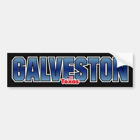 Galveston Bumper Bumper Sticker