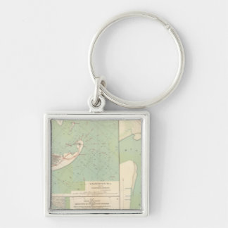 Galveston, Charleston Harbor, Port Hudson Key Ring