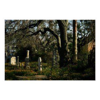 Galveston Graveyard Print