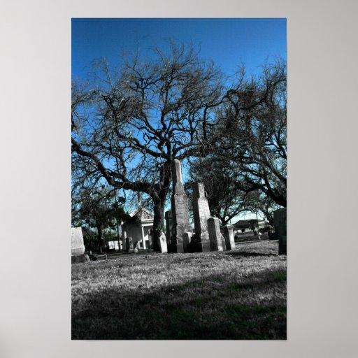 Galveston Graveyard Poster