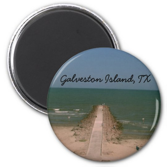 Galveston Island Magnet