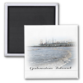 Galveston Island Pleasure Pier Magnet