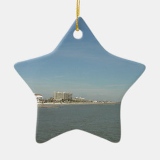 Galveston Island, Texas Christmas Ornament