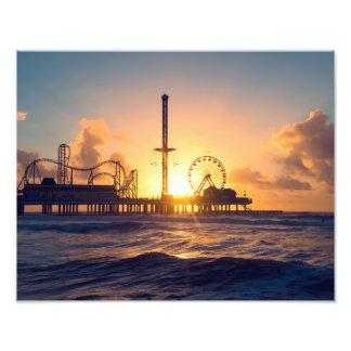 Galveston Sunrise Photo Print