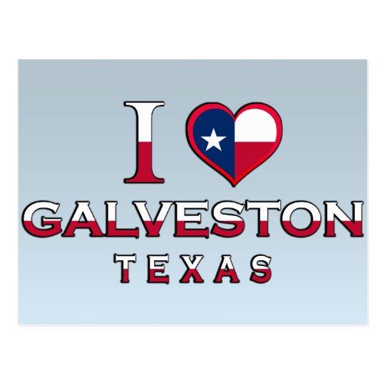Galveston, Texas Postcard