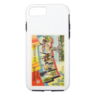 Galveston Texas TX Old Vintage Travel Souvenir iPhone 7 Case
