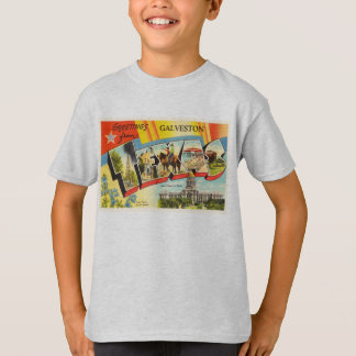 Galveston Texas TX Old Vintage Travel Souvenir T-Shirt