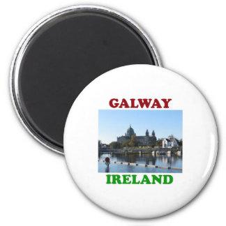 Galway Ireland 6 Cm Round Magnet