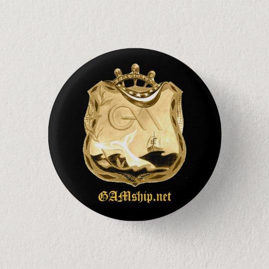 GAM Black Gold Pledge Pin