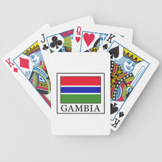 Gambia Bicycle Playing Cards