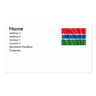 GAMBIA BUSINESS CARDS