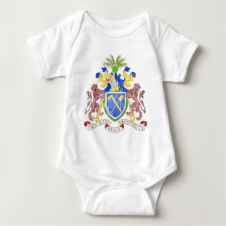 Gambia Coat Of Arms Baby Bodysuit