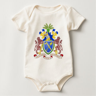Gambia Coat Of Arms Bodysuit