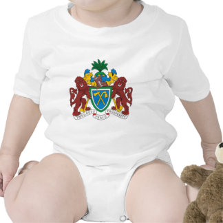 Gambia coat of arms baby creeper