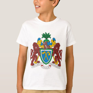 Gambia coat of arms tshirt