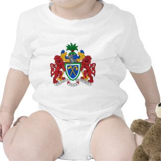 Gambia Coat of Arms Baby Bodysuit