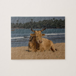 Gambia Cow Jigsaw Puzzle