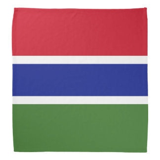 Gambia Flag Bandana