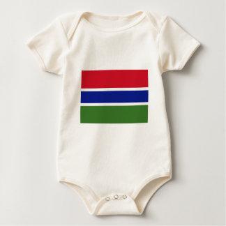 Gambia Flag Bodysuits