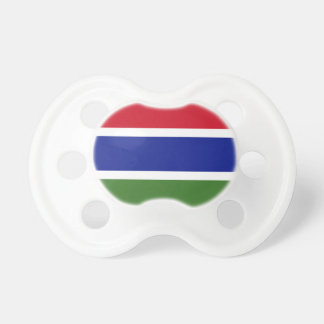 Gambia Flag Pacifier