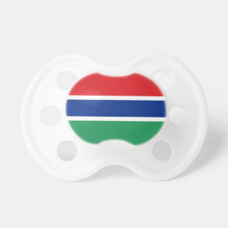 Gambia Flag Baby Pacifier