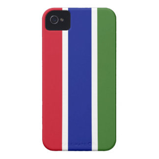 Gambia Flag iPhone 4 Covers
