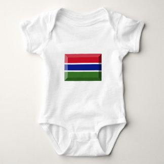 Gambia Flag Jewel Infant Creeper