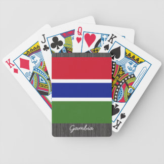 Gambia Flag Playing Cards