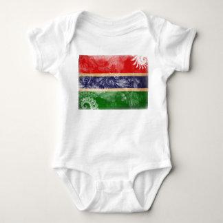 Gambia Flag Tee Shirt