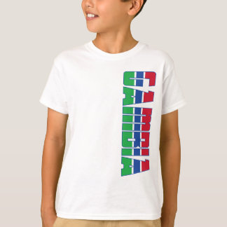 Gambia Flag Tee Shirts