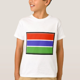 Gambia Flag Tshirt