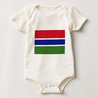 Gambia Flag Baby Creeper