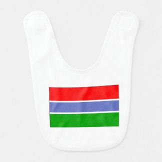 Gambia Flag Bibs
