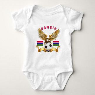 Gambia Football Designs T Shirts