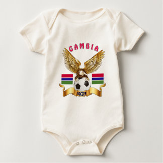 Gambia Football Designs Romper